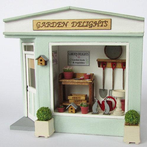 1/48th Scale Pocket Garden Shop Kit