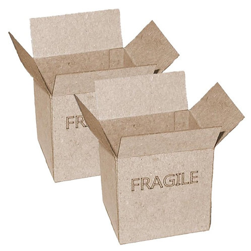 1/12th Scale 'Fragile' Two Cardboard Boxes Kit