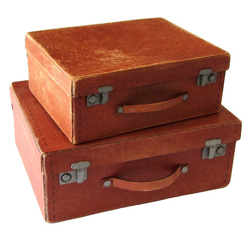 1/12th Scale Two Opening Suitcases Kit