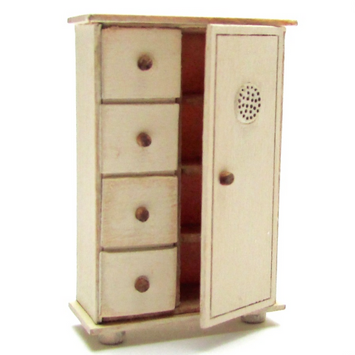 1/48th Scale Dutch Style Cupboard Kit