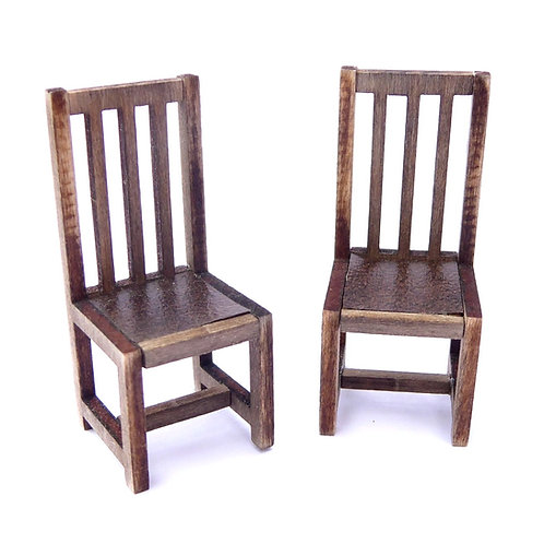 1/24th Scale Two Dining Chairs Kit