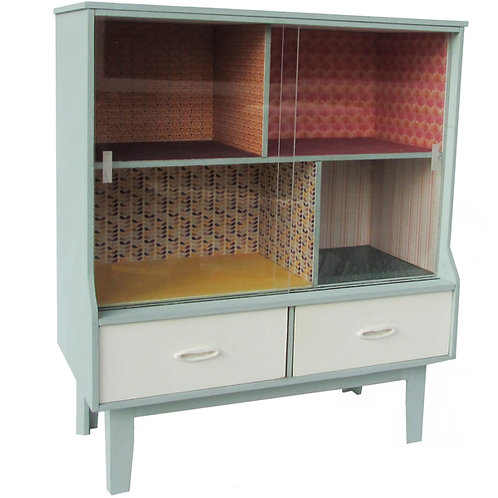 1/48th Scale Display Cabinet Kit