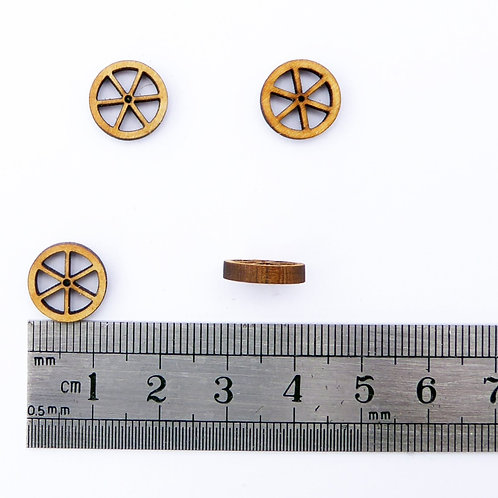 12mm Wooden Spoke Wheels