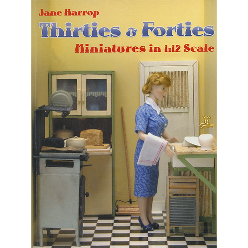 Thirties & Forties Miniatures in 1/12th Scale