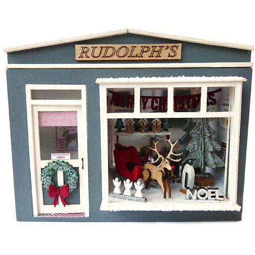 1/48th Scale Pocket Christmas Shop Kit
