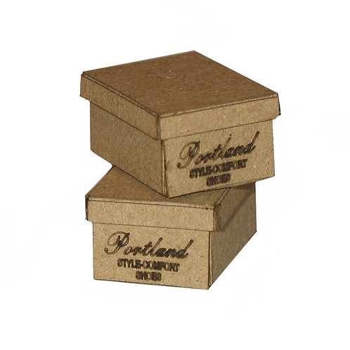 1/12th Scale Two Shoe Boxes Kit