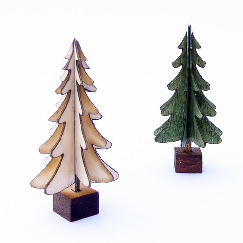 Two Continental Christmas Trees Kit