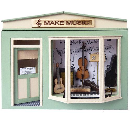 1/48th Scale Pocket Music Shop Kit