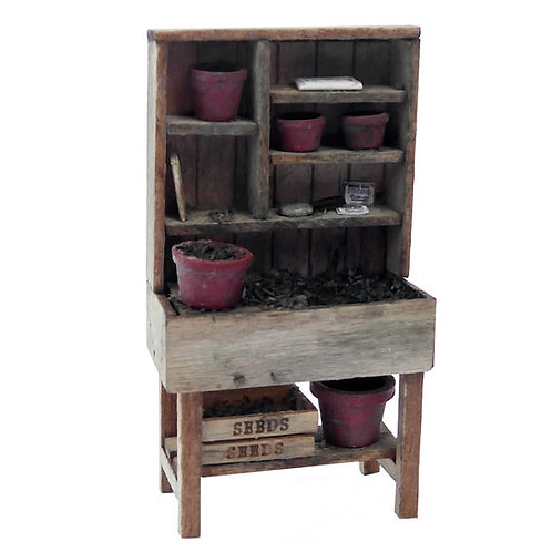 1/48th Scale Potting Stand Kit & Accessories Kit