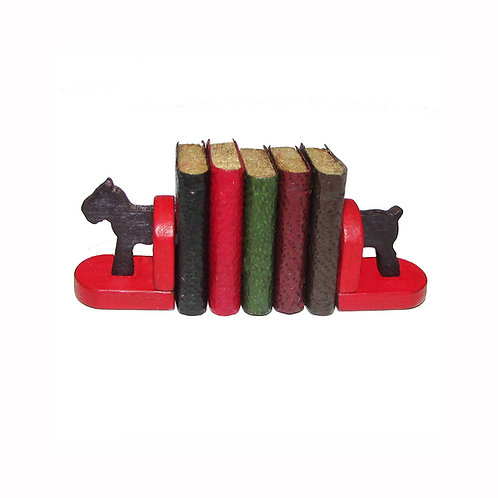 1/12th Scale Art Deco Dog Bookends Kit