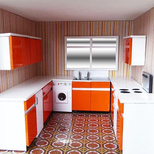 1/48th Scale Kitchen Set Kit