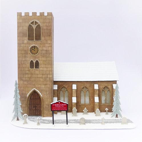St. Nicholas Church Advent Calendar Kit