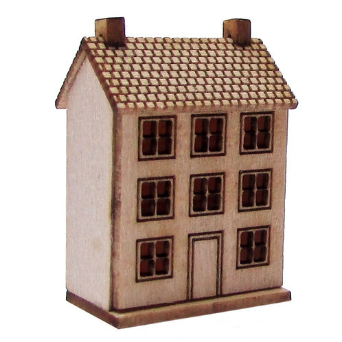 1/24th Scale Large Dolls House Kit