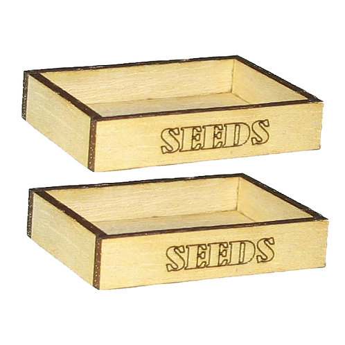 1/12th Scale Two Seed Trays Kit