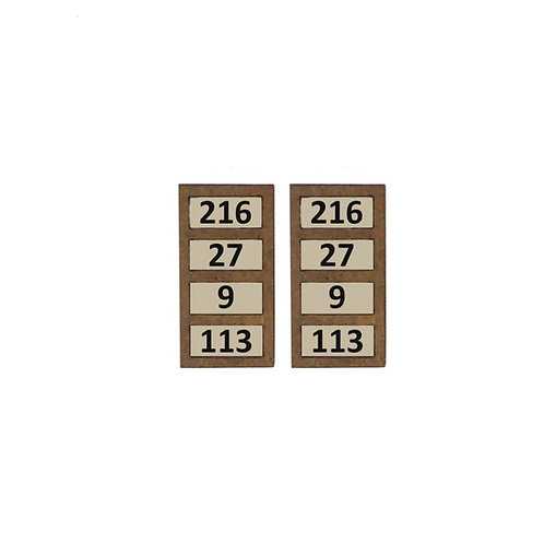 1/48th Scale Two Hymn Boards Kit