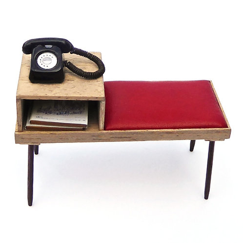 1/12th Scale Telephone Table/Seat