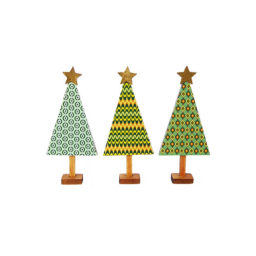 1/48th Scale Three Retro Trees Kit