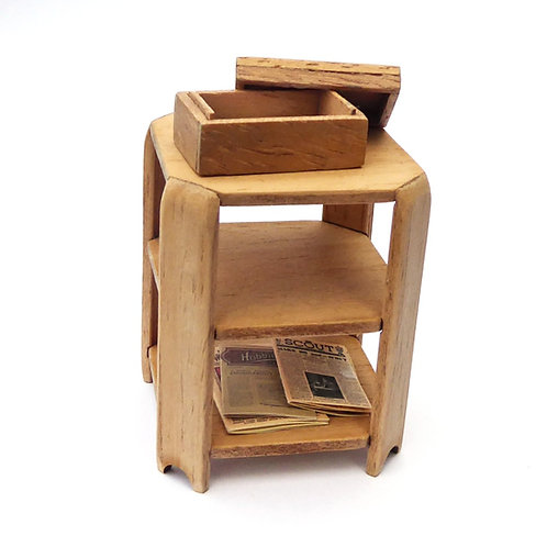 1/12th Scale Octagonal Card Table