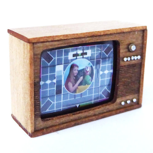 1/12th Scale Television Kit