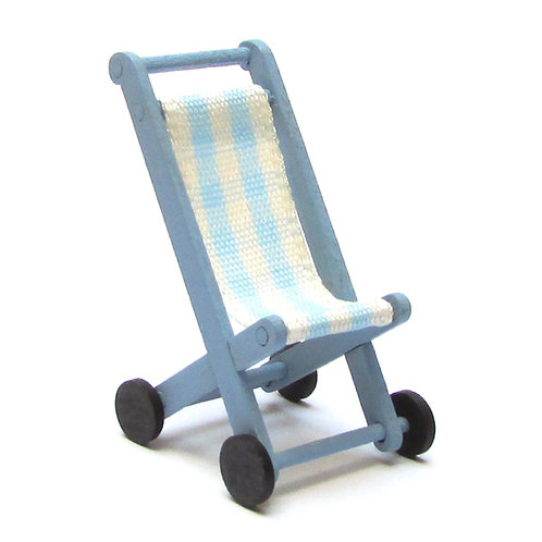 1/12th Scale Dolly's Pushchair Kit (Blue)