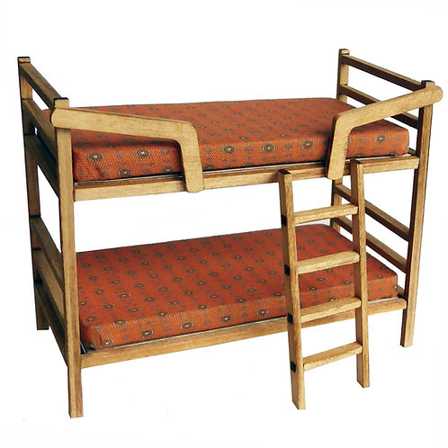 1/24th Scale Bunk Bed Kit