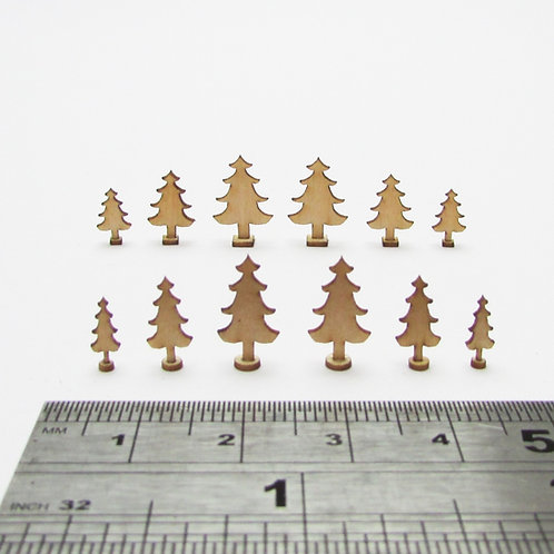 1/48th Scale 2D Trees Kit