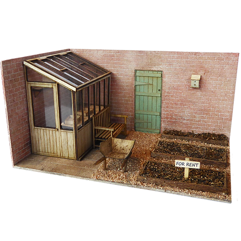 1/48th Scale Walled Garden Kit