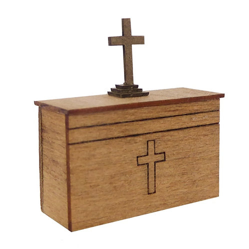 1/48th Scale Altar & Cross Kit
