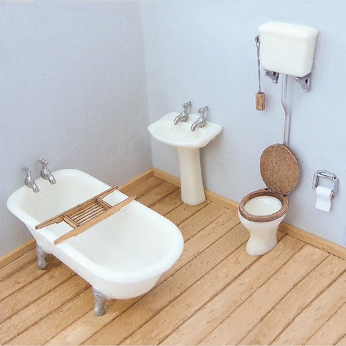 1/48th Scale Bathroom Suite Kit
