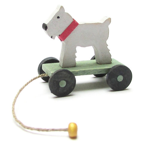 1/24th Scale Pull Along Dog Kit