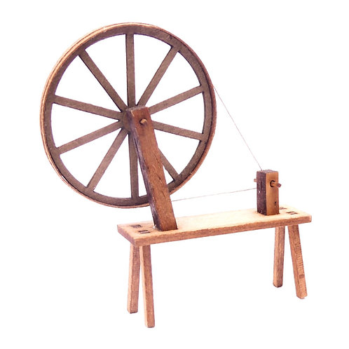 1/24th Scale Spinning Wheel Kit