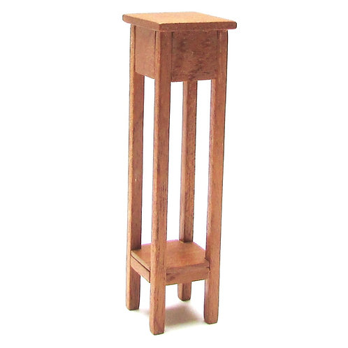 1/24th Scale Mahogany Plant Stand Kit