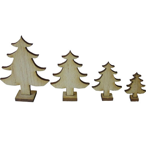 1/12th Scale Classic Christmas Trees Kit
