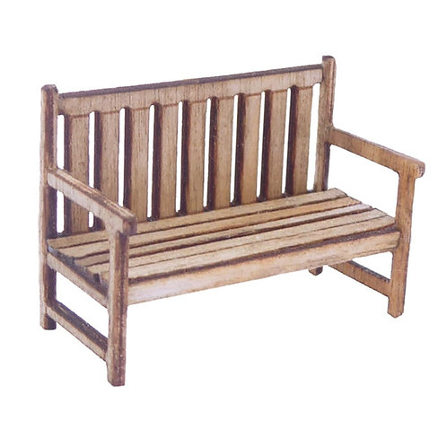 1/48th Scale Garden Bench Kit