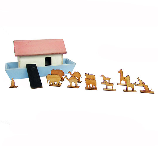 1/12th Scale Noah's Ark Kit