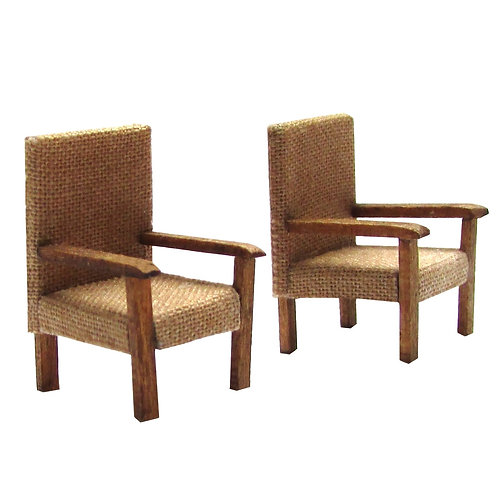 1/48th Scale Two Utility Armchairs Kit