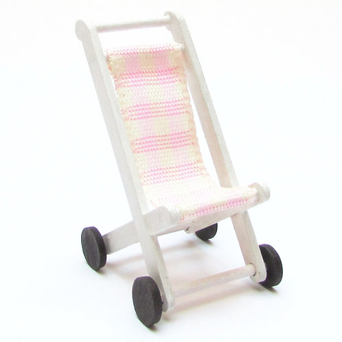 1/12th Scale Dolly's Pushchair Kit (Pink)
