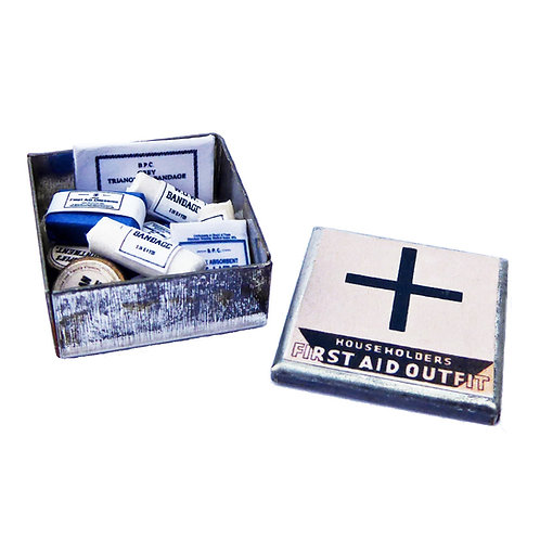1/12th Scale Wartime First Aid Kit