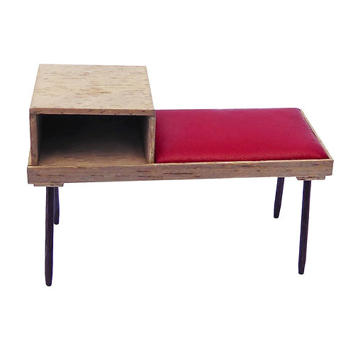 1/12th Scale Telephone Table/Seat Kit
