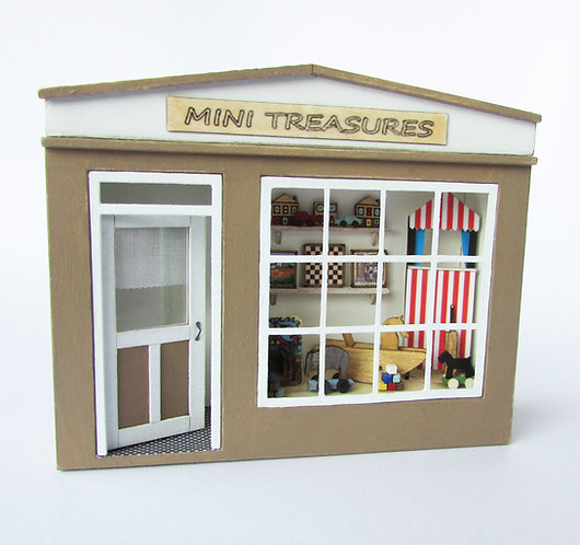 1/48th Scale Pocket Toy Shop Kit