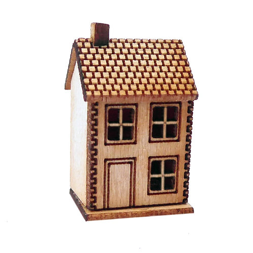 1/48th Scale Small Doll's House Kit