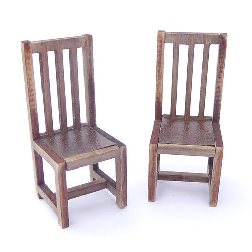 1/48th Scale Two Dining Chairs Kit
