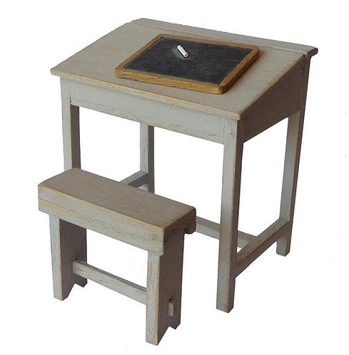 Child's Desk, Stool & Blackboard Kit