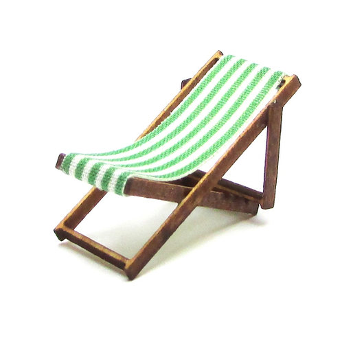 1/48th Scale Two Green Deckchairs Kit