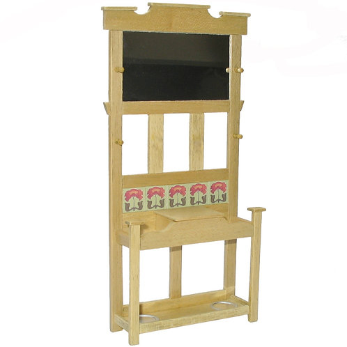 1/12th Scale Arts & Crafts Style Hallstand Kit