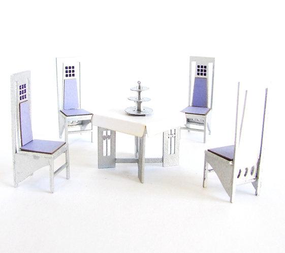 1/24th Scale Mackintosh Style 'Salon de Luxe' Kit