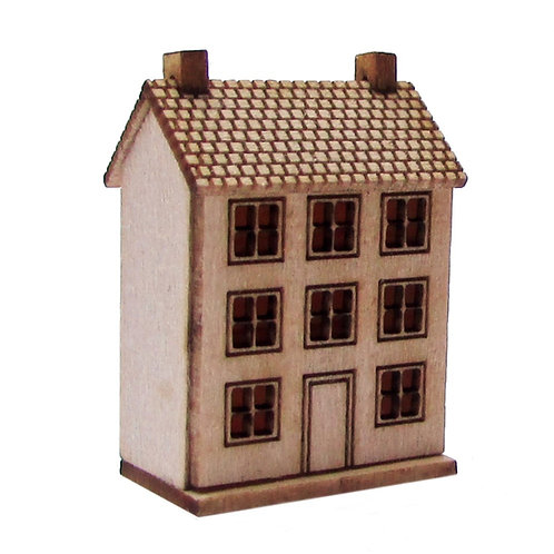 1/48th Scale Large Doll's House Kit