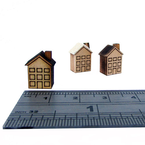 Square Chimney House Kit