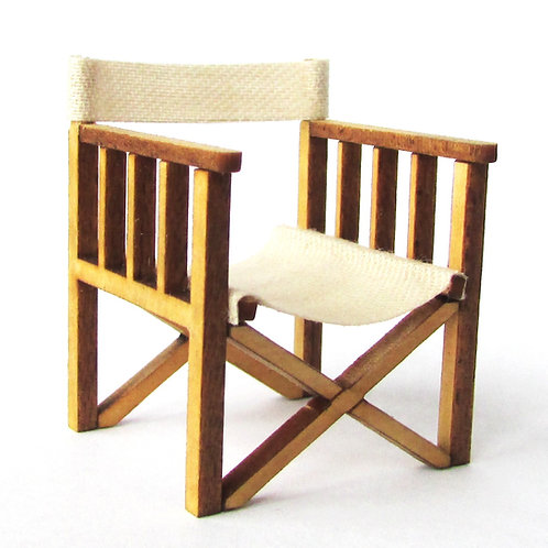 1/48th Scale Two Director's Chairs Kit