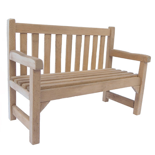 1/24th Scale Garden Bench Kit
